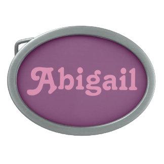 De Gesp Abigail van de riem