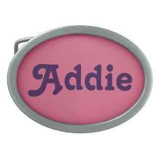 De Gesp Addie van de riem