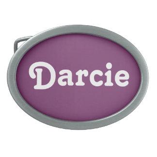 De Gesp Darcie van de riem