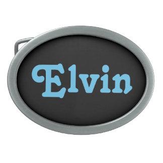 De Gesp Elvin van de riem