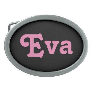 De Gesp Eva van de riem