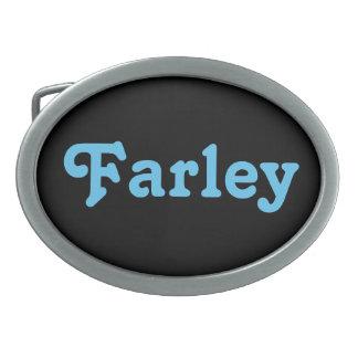 De Gesp Farley van de riem