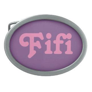 De Gesp Fifi van de riem