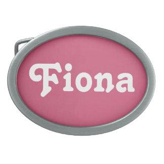 De Gesp Fiona van de riem
