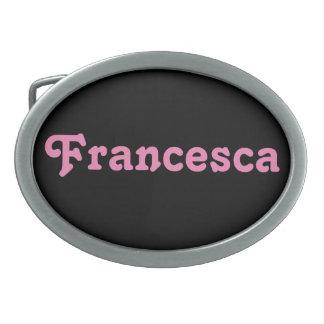 De Gesp Francesca van de riem