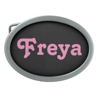 De Gesp Freya van de riem