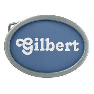 De Gesp Gilbert van de riem