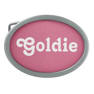 De Gesp Goldie van de riem
