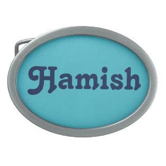 De Gesp Hamish van de riem