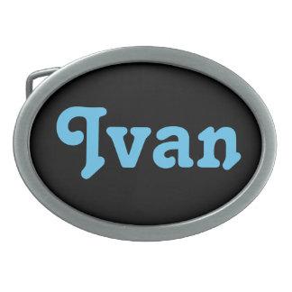 De Gesp Ivan van de riem