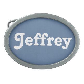 De Gesp Jeffrey van de riem