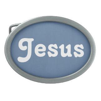 De Gesp Jesus van de riem
