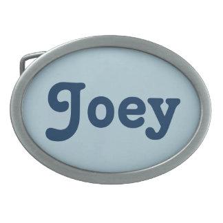 De Gesp Joey van de riem