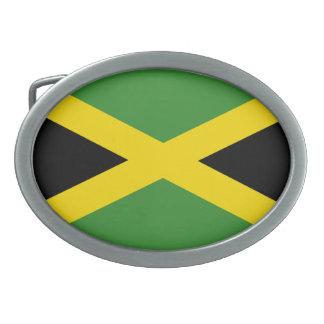 De Gesp van de Riem van de Vlag van Jamaïca