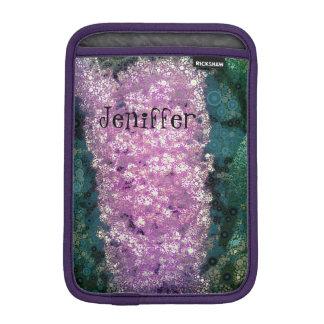 De gestileerde Vlinder van de Lavendel ringt iPad