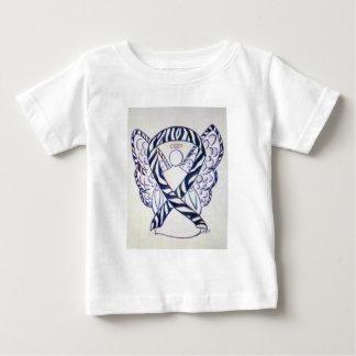 De gestreepte Bovenkant van het Baby van de Kunst Baby T Shirts