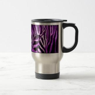 De gestreepte Mokken van de Koffie van de Druk