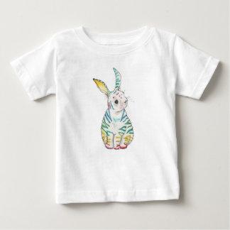 De gestreepte T-shirt van het Baby van het Konijn
