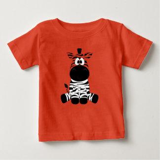 De gestreepte T-shirt van Jersey van het Baby