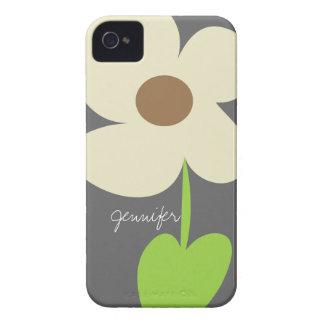 De geval-Partner van iPhone van Daisy Personalized Case-Mate iPhone 4 Hoesje