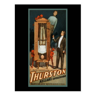 De Gevangene van Thurston van Kanton Briefkaart