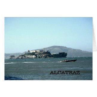 De gevangenis van Alcatraz Kaart