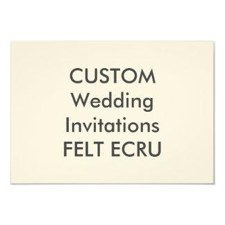 De GEVOELDE Uitnodigingen van het Huwelijk van