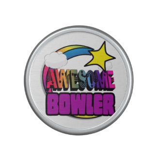 De Geweldige Bowlingspeler van de Regenboog van de Speaker