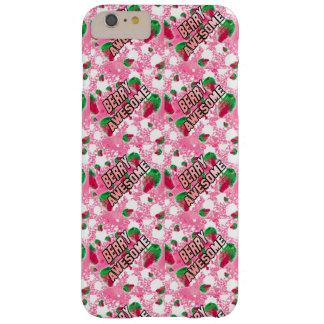 De Geweldige Fruitige Aardbeien van de bes Barely There iPhone 6 Plus Hoesje