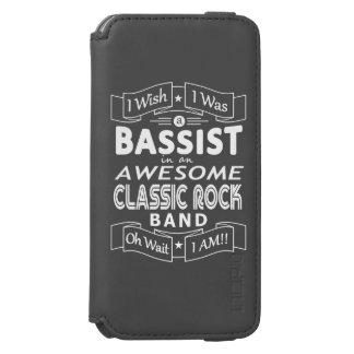 De geweldige klassieke popgroep van de BASSIST
