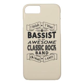 De geweldige klassieke popgroep van de BASSIST iPhone 8/7 Hoesje