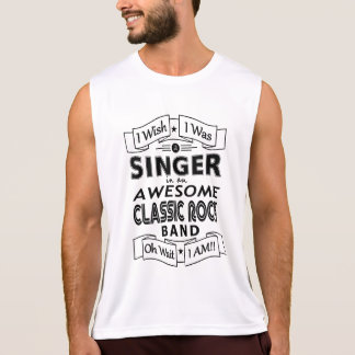 De geweldige klassieke popgroep van de ZANGER Hemd