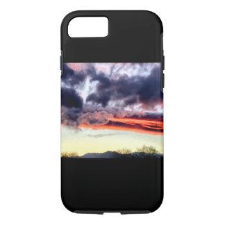 De geweldige Paarse en paarse wolken   van Arizona iPhone 7 Hoesje