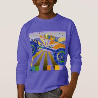 De geweldige psychedelische vrachtwagen van het t shirt