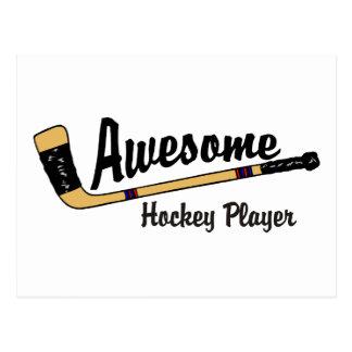 De geweldige Speler van het Hockey Briefkaart
