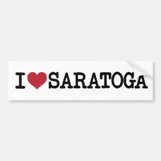 """De geweldige Sticker van de Bumper """"van Saratoga v"""