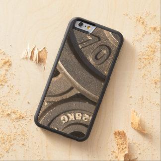 De Gewichten van de gymnastiek Esdoorn iPhone 6 Bumper Hoesje