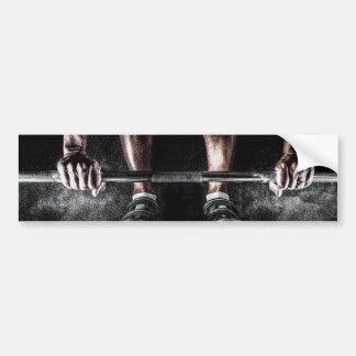 De Gewichten van de lift Bumpersticker