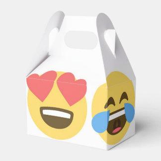De Gezichten van Emoji van de Doos van de Gunst Bedankdoosjes