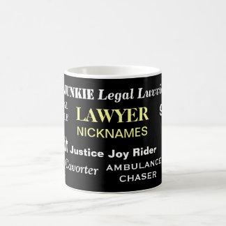 De Gift van de advocaat - Wettelijke Bijnamen - Koffiemok