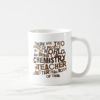 De Gift van de Leraar van de chemie Basic Witte Mok