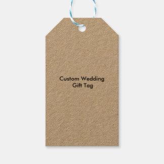 De Gift van het Huwelijk van de douane etiketteert Cadeaulabel