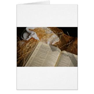 De gift van Kerstmis spreidde het Evangelie uit Kaart