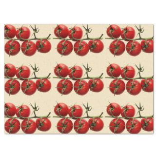 De gift van Tomaten Tissuepapier