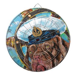 De Gift van //van de Hond van de Zeeman van //van Dartbord