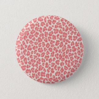 De Giften van de Druk van de Luipaard van het roze Ronde Button 5,7 Cm