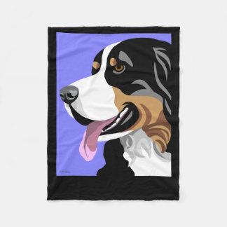 De Giften van de Hond van de Berg van Bernese Fleece Deken