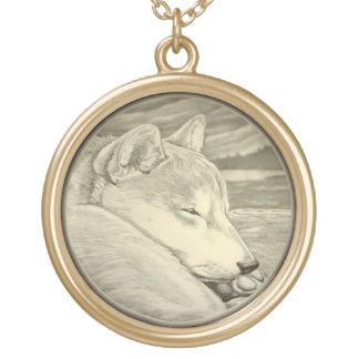 De Giften van de Juwelen van de Kunst van de Hond Goud Vergulden Ketting