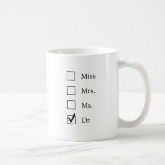 De giften van het doctoraat voor vrouwen koffiemok