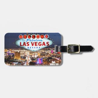 De Giften van Las Vegas Kofferlabels